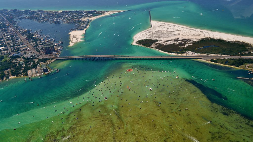 Visit Crab Island on Your Next Vacation to Destin Beach