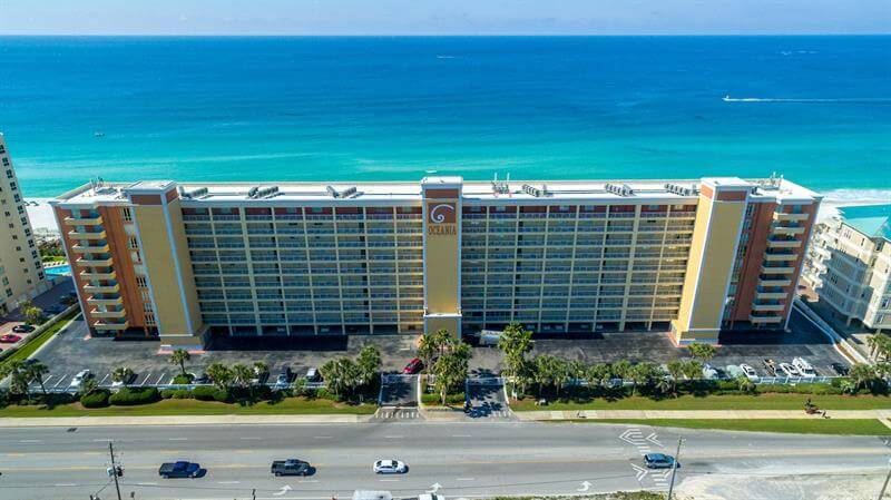 Oceania destin florida condo rental holiday isle - 1 bedroom beachfront condo in destin fl ...